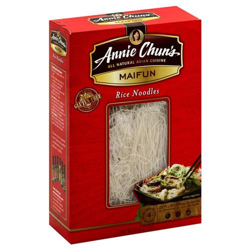 ANNIE CHUN'S - RICE NOODLES - MAIFUN - VEGAN - GLUTEN FREE - 8oz