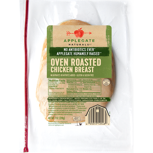 APPLEGATE - OVEN ROASTED CHICKEN BREAST - 7oz