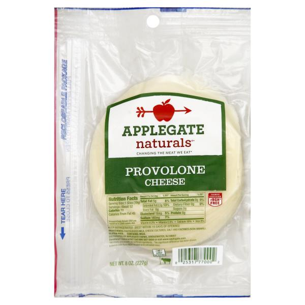 APPLEGATE - PROVOLONE CHEESE - 8oz