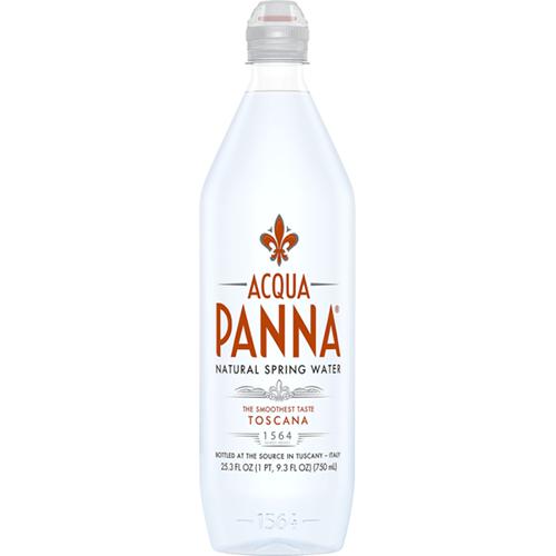 AQUA PANNA - NATURAL SPRING WATER - 25.3oz