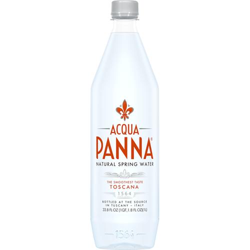 AQUA PANNA - NATURAL SPRING WATER - 33.8oz