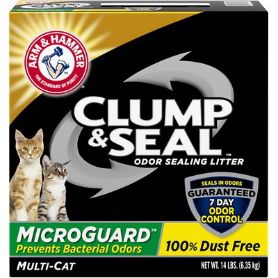 ARM & HAMMER - CLUMP & SEAL - (Micro Guard) - 14LB