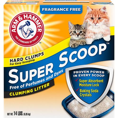 ARM & HAMMERS - SUPER SCOOP - (Hard Clumps) - 14LB