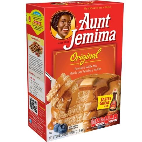 AUNT JEMIMA - PANCAKE & WAFFLE MIX - (Original) - 32oz
