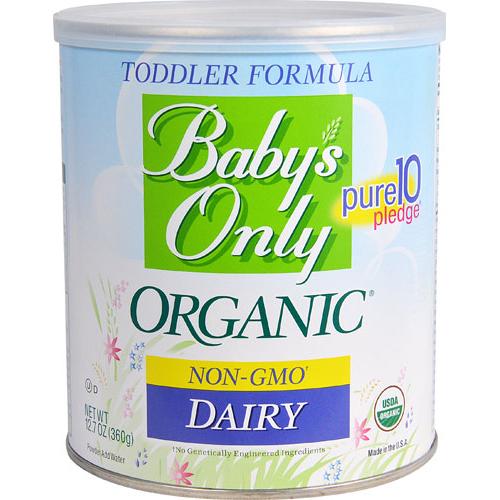 BABYS ONLY - ORGANIC TODDLER FORMULA - NON GMO - (Dairy) - 12.7oz