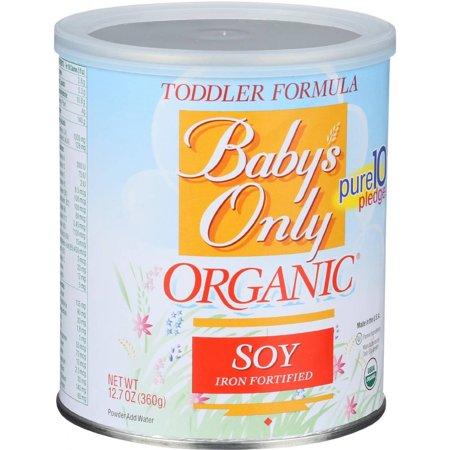 BABYS ONLY - ORGANIC TODDLER FORMULA - NON GMO - (Soy) - 12.7oz