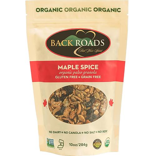 BACK ROADS - ORGANIC GRANOLA - (Maple Spice) - 10oz