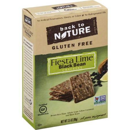 BACK TO NATURE - CRACKERS - NON GMO - GLUTEN FREE - (Fiesta Lime | Black Bean) - 3.5oz