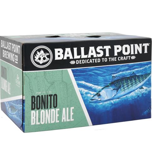 BALLAST POINT - (Can) - (Bonito Blonde Ale) - 12oz(6PK)