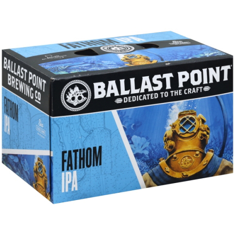 BALLAST POINT - (Can) - (Fathom IPA) - 12oz(6PK)