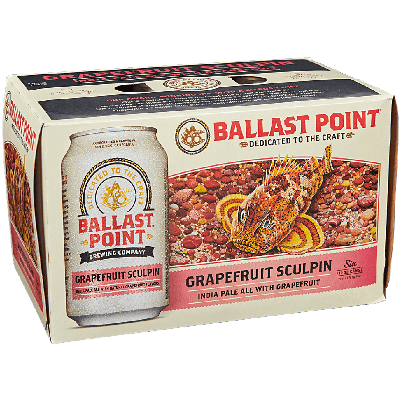 BALLAST POINT - (Can) - (Grapefruit Sculpin) - 12oz(6PK)