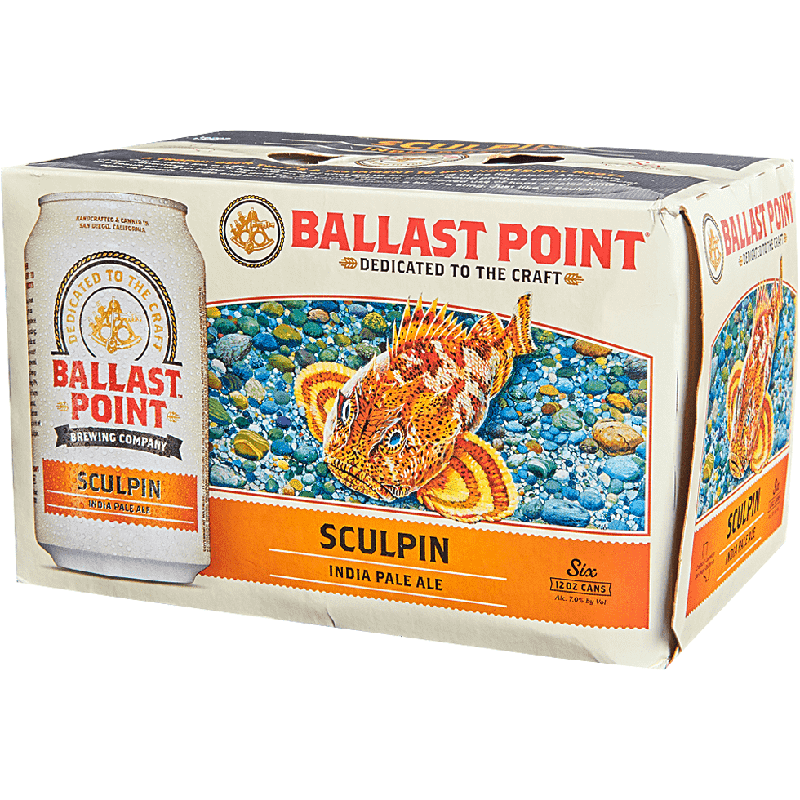 BALLAST POINT - (Can) - (Sculpin) - 12oz(6PK)