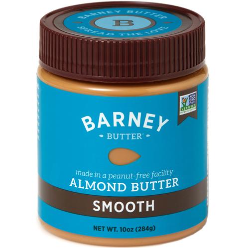 BARNEY - ALMOND BUTTER - NON GMO - GLUTEN FREE - VEGAN - (Smooth) - 10oz