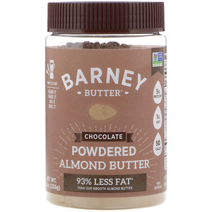 BARNEY - POWDERED ALMOND BUTTER - (Chocolate) - 8oz