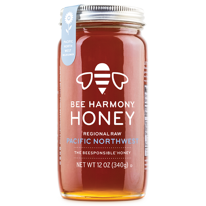 BEE HARMONY - HONEY - REGIONAL RAW NORTHEAST - 12oz