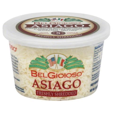 BELGIOIOSO - ASIAGO SHREDDED CHEESE - 5oz