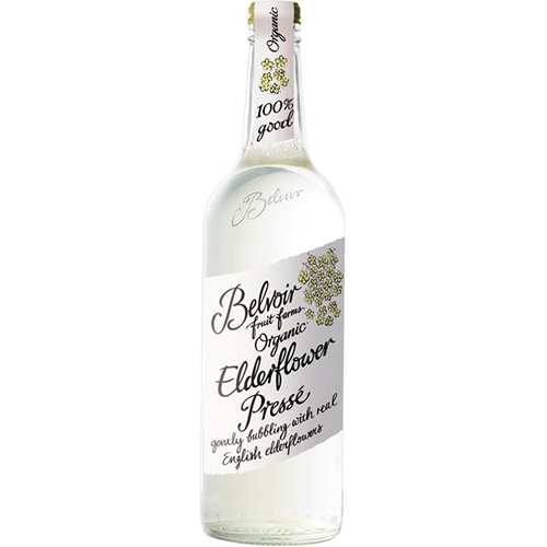 BELVOIR - ORGANIC ELDERFLOWER LEMONADE - 25.4oz