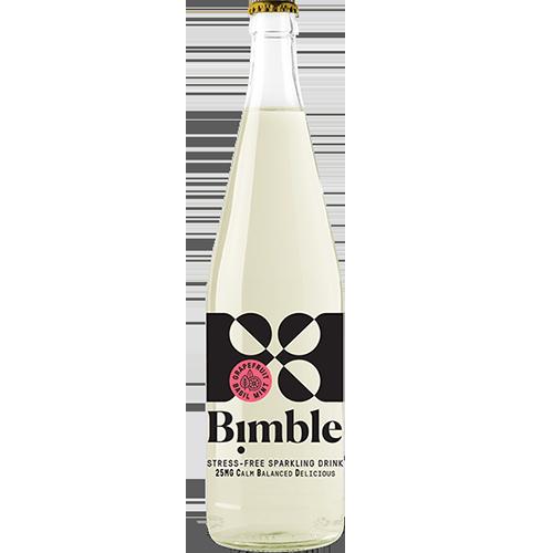 BIMBLE - STRESS FREE SPARKLING DRINK 25mg CBD - 12oz