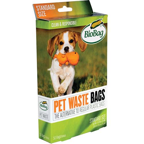 BIOBAG - PET WASTE BAGS - 50 BAGS