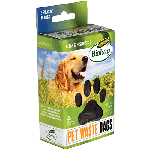 BIOBAG - PET WASTE BAGS - 50 BAGS