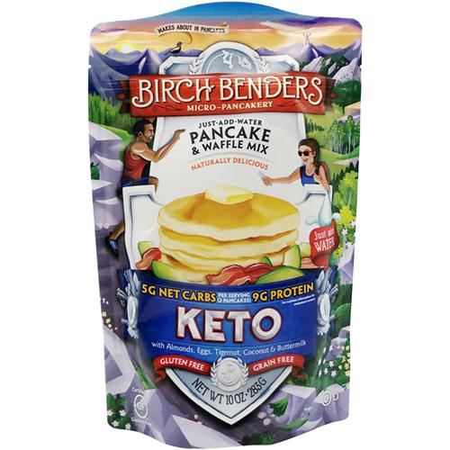 BIRCH BENDERS - JUST ADD WATER PANCAKE & WAFFLE MIX -(Keto) - 16oz