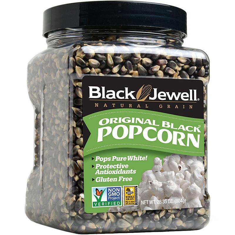 BLACK JEWELL - ORIGINAL BLACK POPCORN - NON GMO - GLUTEN FREE - 28.35oz