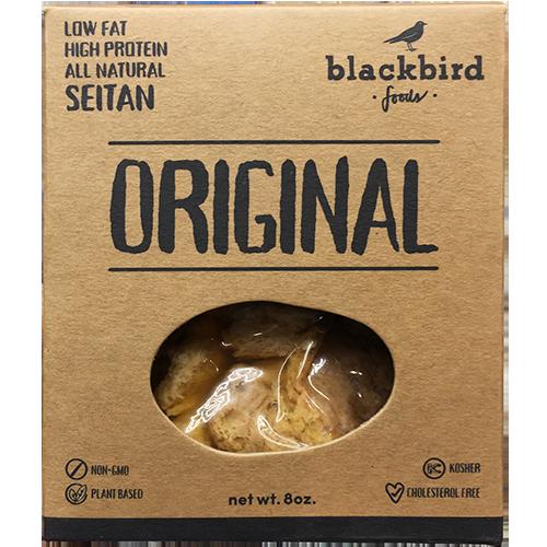 BLACKBIRD - LOW FAT HIGH PROTEIN ALL NATURAL SEITAN - NON GMO - VEGAN - (Original) - 8oz