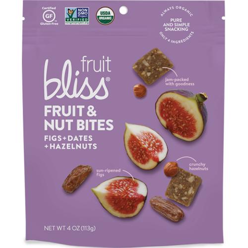 BLISS - FRUIT & NUT BITES - (Figs + Dates + Hazelnuts) - 4oz