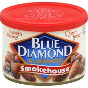 BLUE DIAMOND - ALMONDS - (Smokehouse) - 6oz