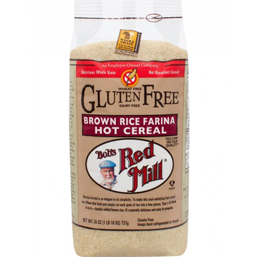 BOB'S RED MILL - BROWN RICE FARINA HOT CEREAL - 26oz