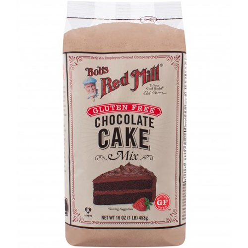 BOB'S RED MILL - GLUTEN FREE CHOCOLATE CAKE MIX - 16oz