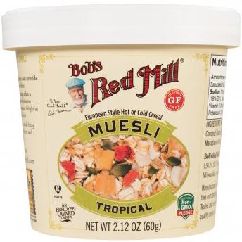 BOB'S - RED MILL MUESLI - (Tropical) - 1.41oz