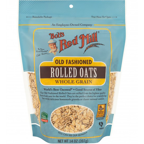 BOB'S RED MILL - OLD FASHIONED ROLLED OATS - (Whole Grain) - 32oz