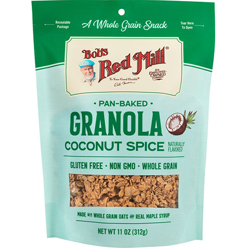 BOB'S RED MILL - PAN BAKED GRANOLA (Coconut Spice) - 11oz