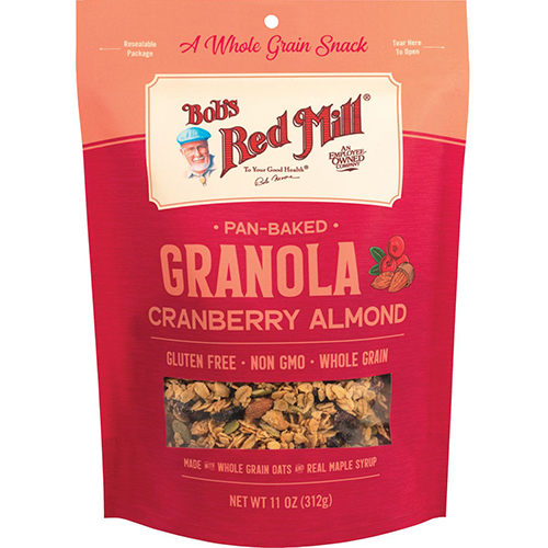 BOB'S RED MILL - PAN BAKED GRANOLA (Cranberry Almond) - 11oz