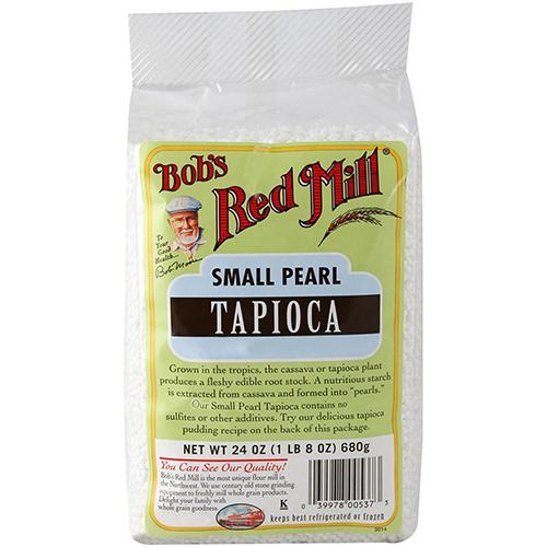 BOB'S RED MILL - SMALL PEARL TAPIOCA WHOLESOME - 24oz