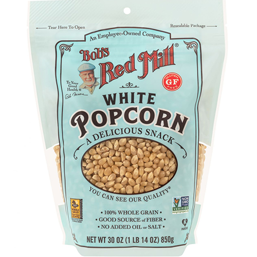 BOB'S RED MILL - WHITE POPCORN - 30oz