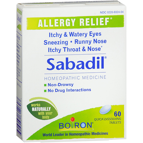 BOIRON - SABADIL - 60TABLETS