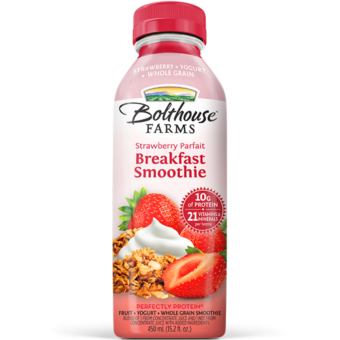 BOLTHOUSE - PERFECTLY PROTEIN - (Strawberry Parfait | Breakfast Smoothie) - 15.2oz