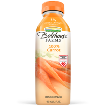 BOLTHOUSE - VEGGIE JUICE - (100& Carrot) -15.2oz