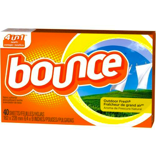 BOUNCE - DRYER SHEETS - (Outdoor Fresh) - 40counts
