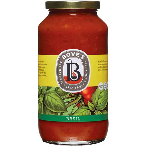 BOVE'S - ALL NATURAL PASTA - (Basil) - 24oz