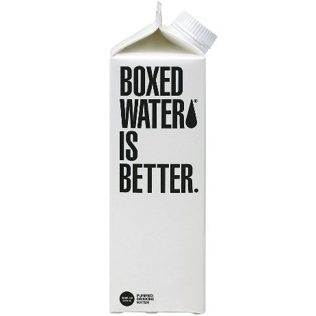 BOXED WATER IS BETTER - 16.9oz