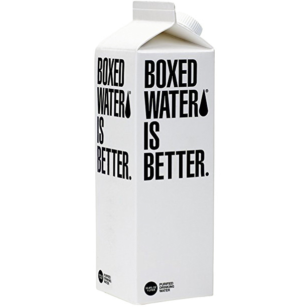 BOXED WATER IS BETTER - 33.8oz