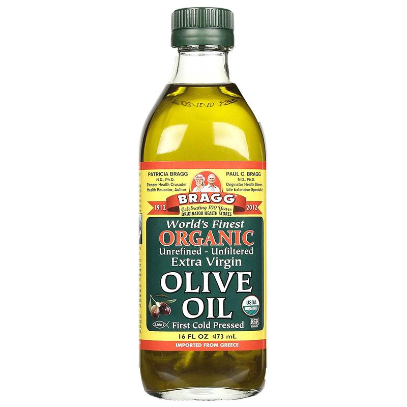 BRAGG - ORGANIC EXTRA VIRGIN OLIVE OIL - NON GMO - 16oz