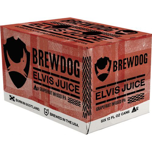 BREWDOG - (Elvis Juice) - 12oz 6PCK