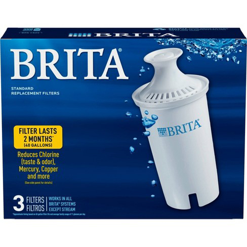 BRITA - PITCHER REPLACEMENT FILTERS - 3FILTERS