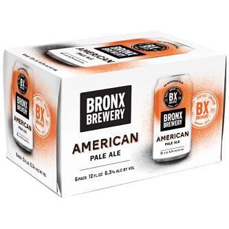 BRONX BREWERY - AMERICAN PALE ALE - (Can) - 12oz(6PK)