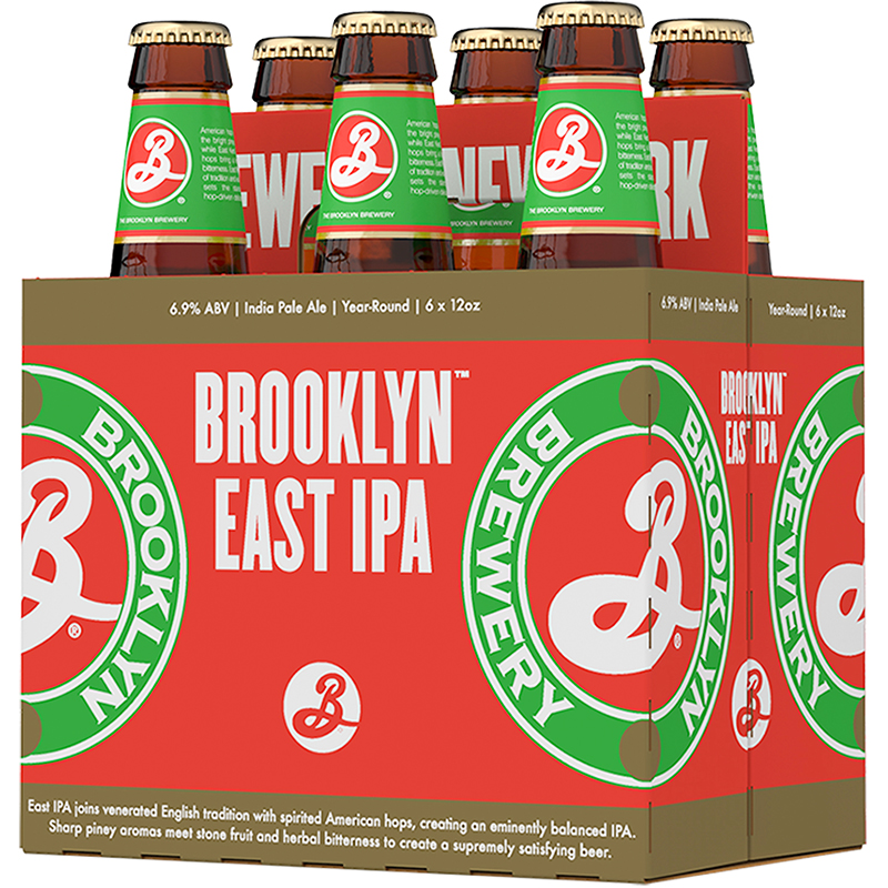 BROOKLYN - EAST IPA - (Bottle) - 12oz(6PK)