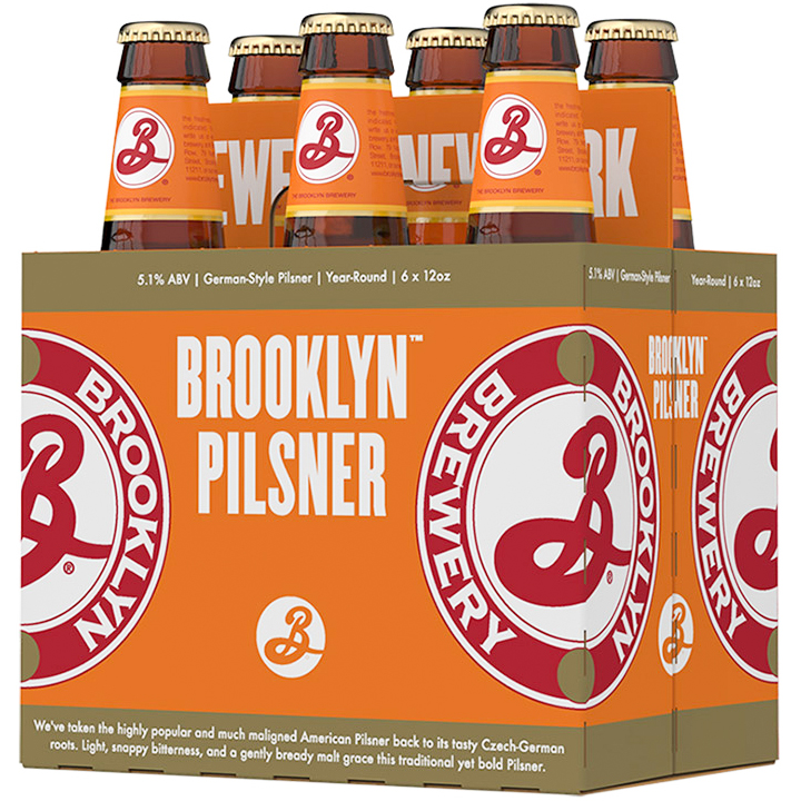BROOKLYN - PILSNER - (Bottle) - 12oz(6PK)